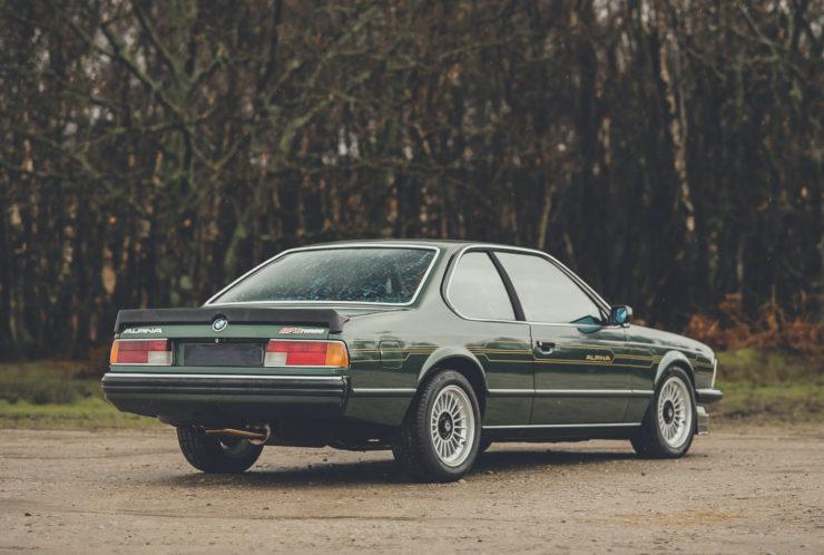 BMW Alpina B7 S Turbo Coupé Rear