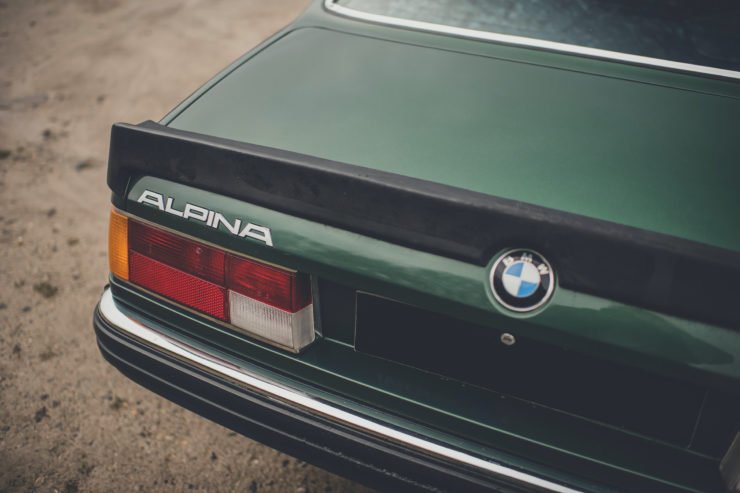 BMW Alpina B7 S Turbo Coupé Rear Spoiler