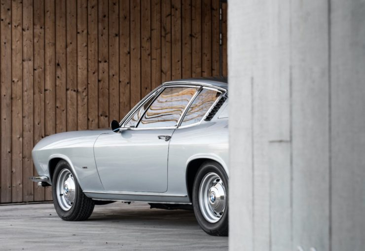 BMW-Glas 3000 V8 Rear Side