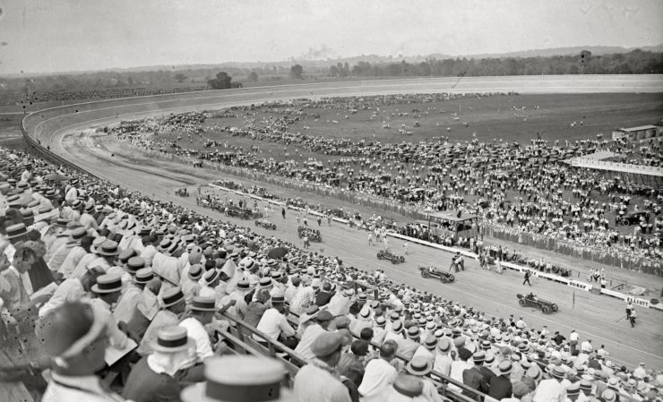 Board Track Racing Circuit