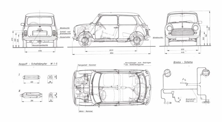 Classic Mini Blueprints