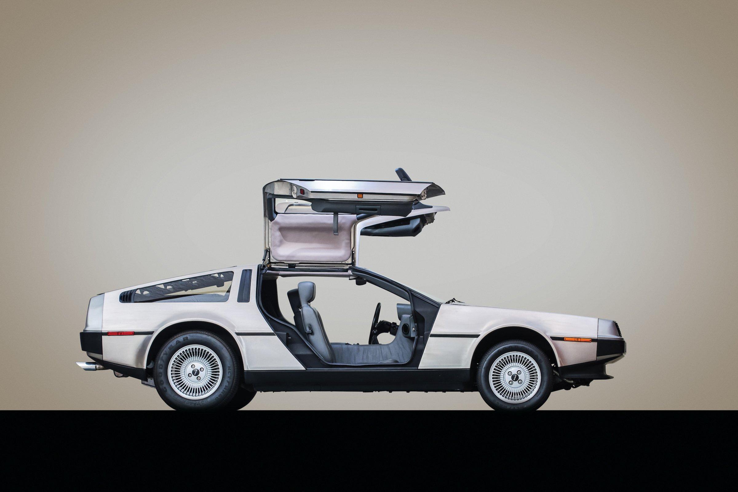 DeLorean DMC-12 Turbo Side