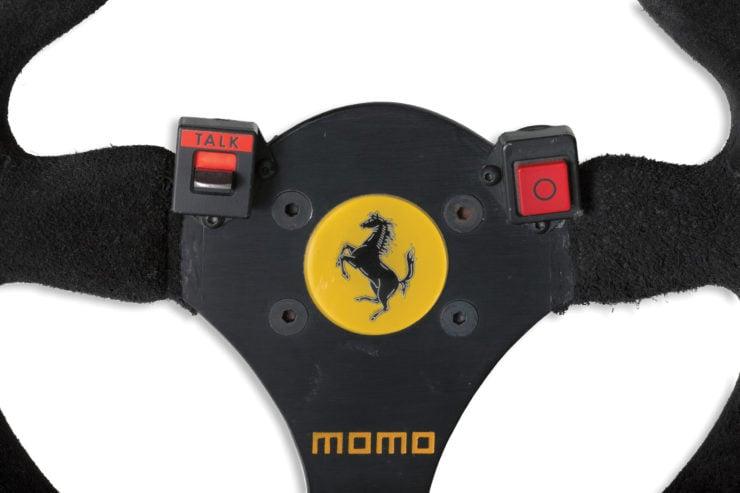 Ferrari 641 Formula 1 MOMO Steering Wheel Buttons