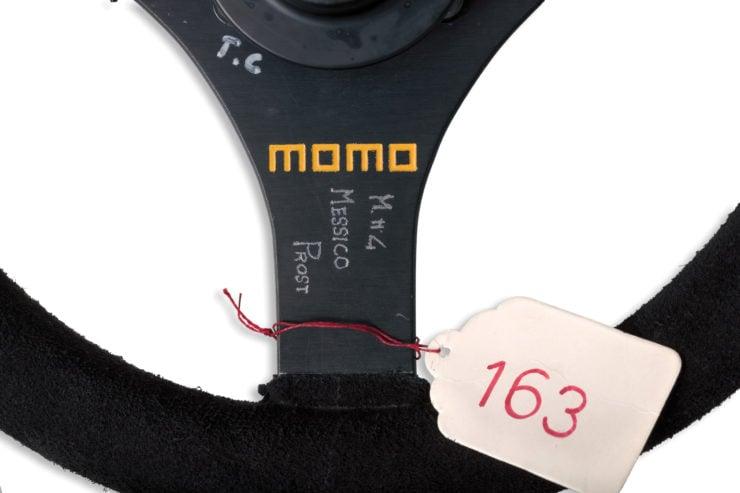 Ferrari 641 Formula 1 MOMO Steering Wheel Engraving
