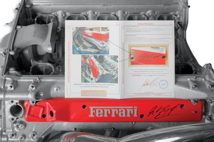 Ferrari F2003-GA Engine 4