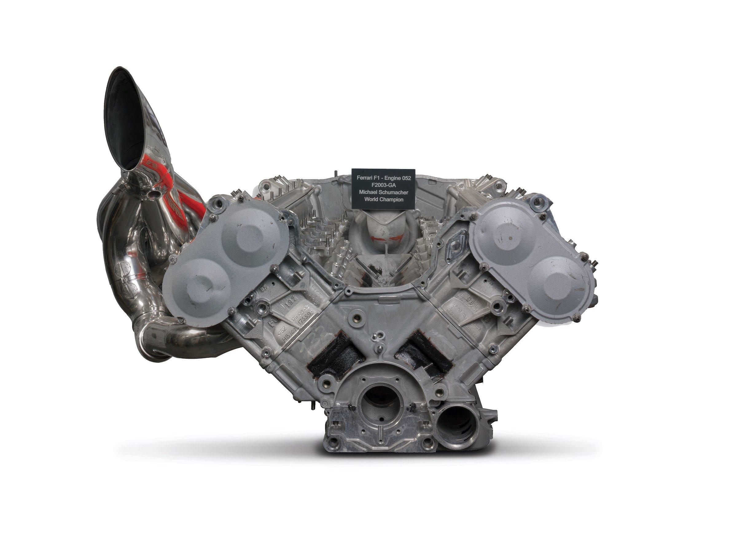 Ferrari F2003-GA Engine