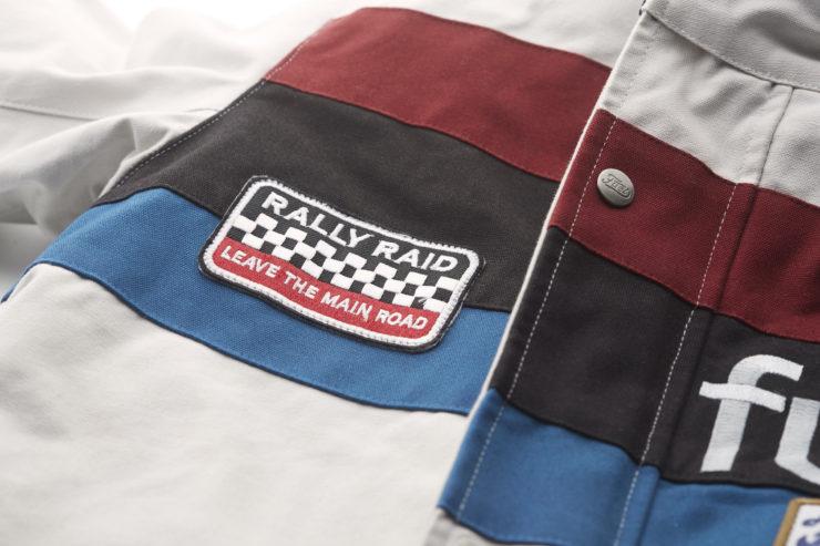 Fuel Rally Raid Jacket Detail 1