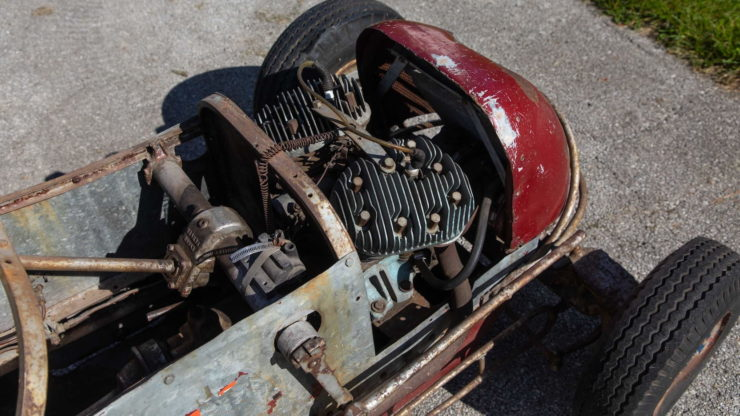 Harley-Davidson Powered TQ Midget Race Car Front