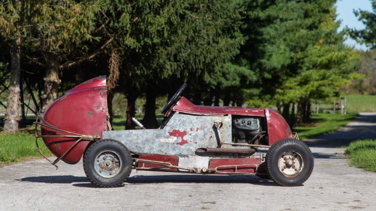 Harley-Davidson Powered TQ Midget Race Car Side 2