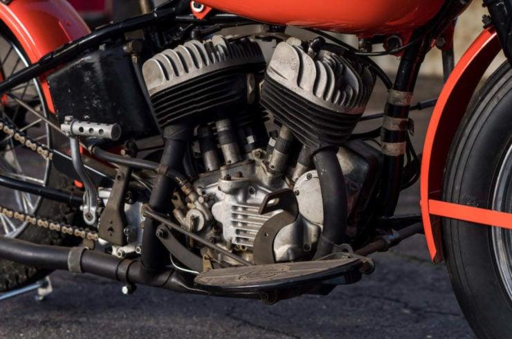 Harley-Davidson WRTT Flat Head V-twin