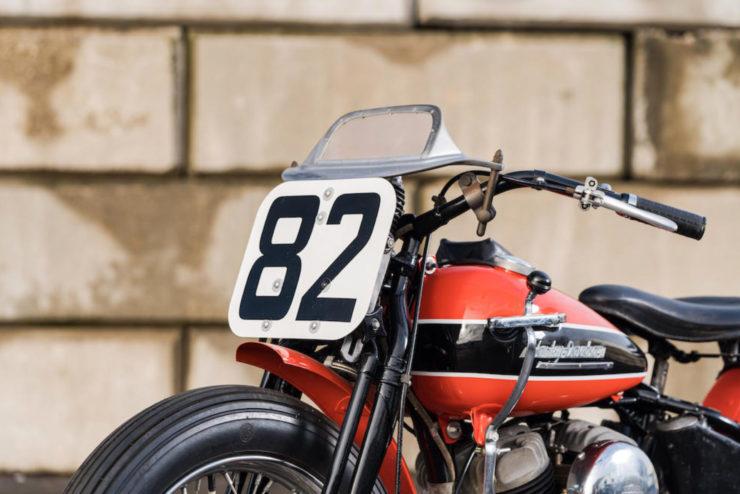 Harley-Davidson WRTT Front Plate