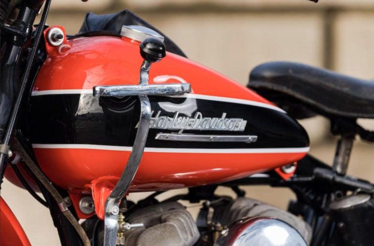 Harley-Davidson WRTT Tank