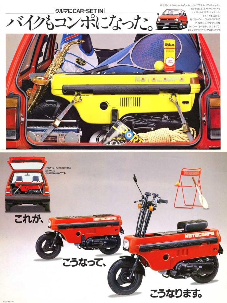 Honda Motocompo Brochure 1