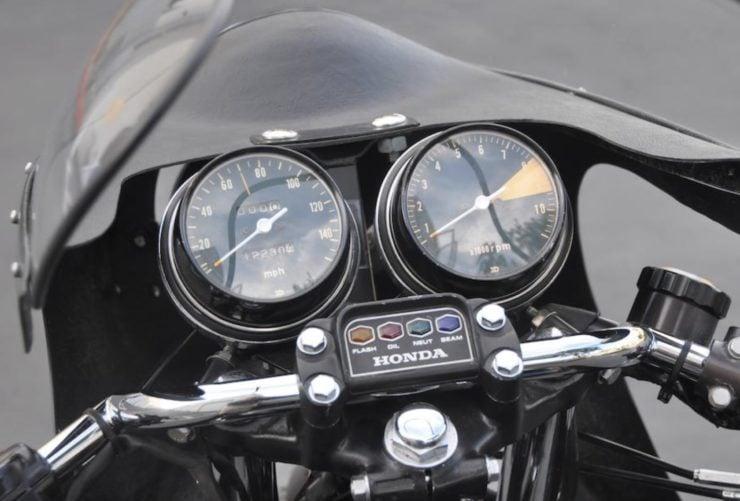Honda CB750 Cafe Racer Dash