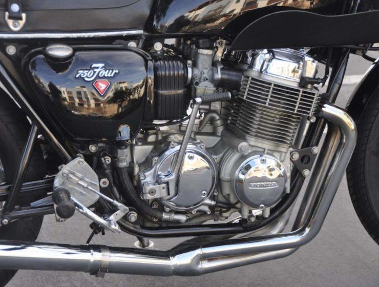 Honda CB750 Cafe Racer Headers