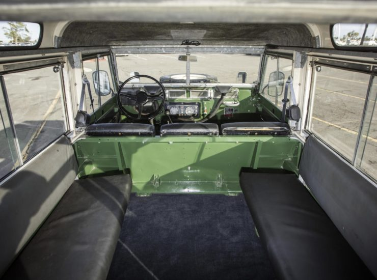 LAND ROVER LIGHTWEIGHT BACK SEATS