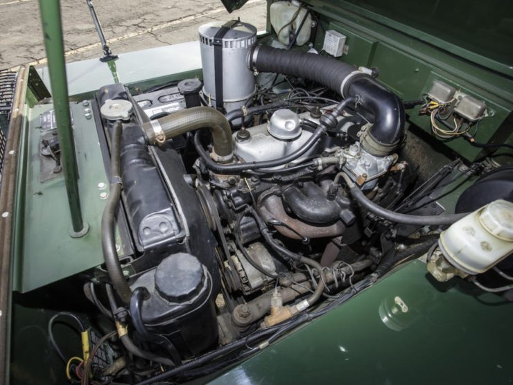 LAND ROVER LIGHTWEIGHT ENGINE 2