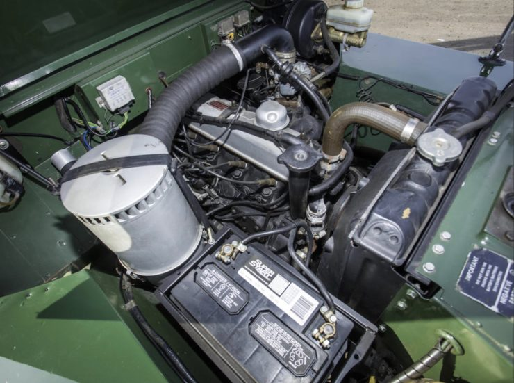 LAND ROVER LIGHTWEIGHT ENGINE