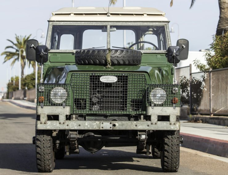 LAND ROVER LIGHTWEIGHT FRONT