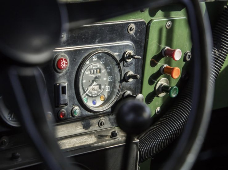 LAND ROVER LIGHTWEIGHT GAUGES