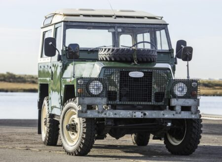 LAND ROVER LIGHTWEIGHT GRILLE