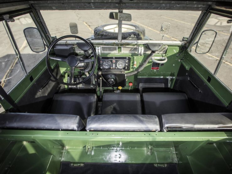 LAND ROVER LIGHTWEIGHT INTERIOR