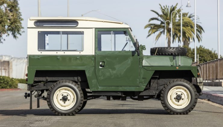 LAND ROVER LIGHTWEIGHT SIDE