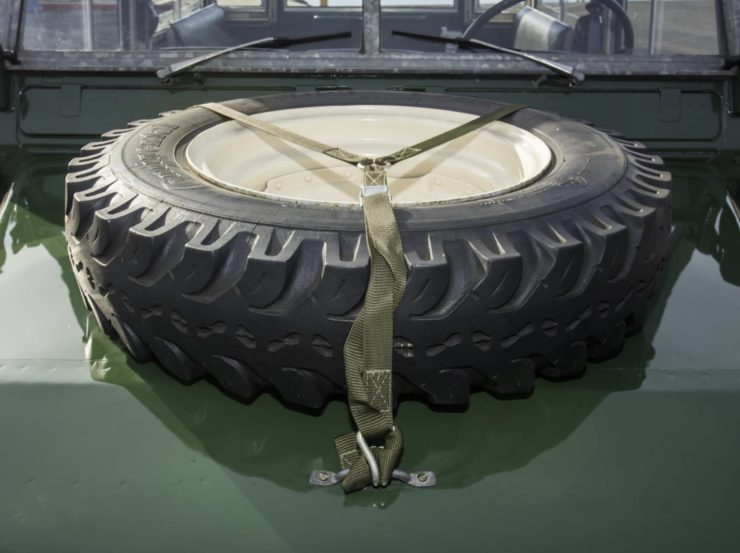 LAND ROVER LIGHTWEIGHT SPARE TIRE