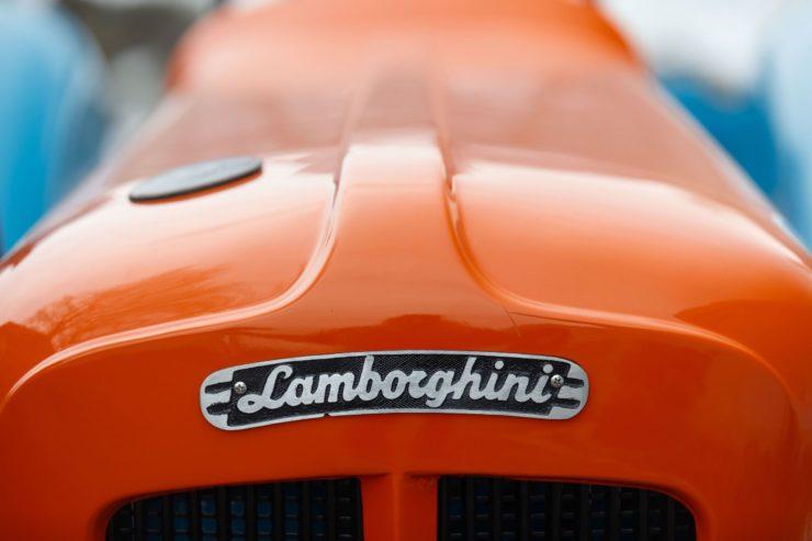 Lamborghini Tractor 2 R Badge