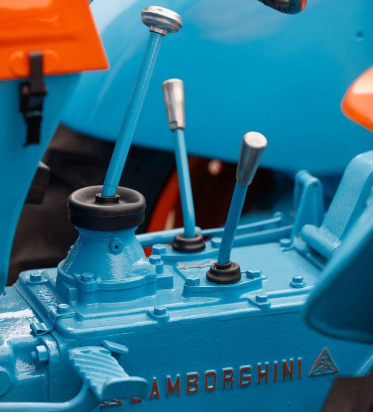 Lamborghini Tractor 2 R Gearbox