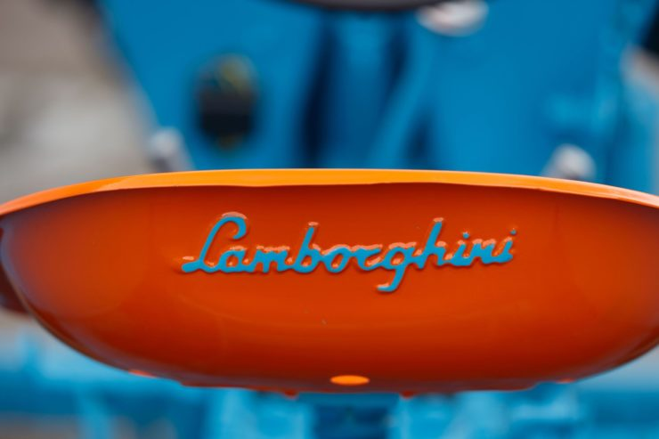 Lamborghini Tractor 2 R Seat