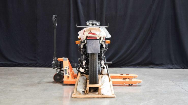 Moto Guzzi 850 Le Mans III Back