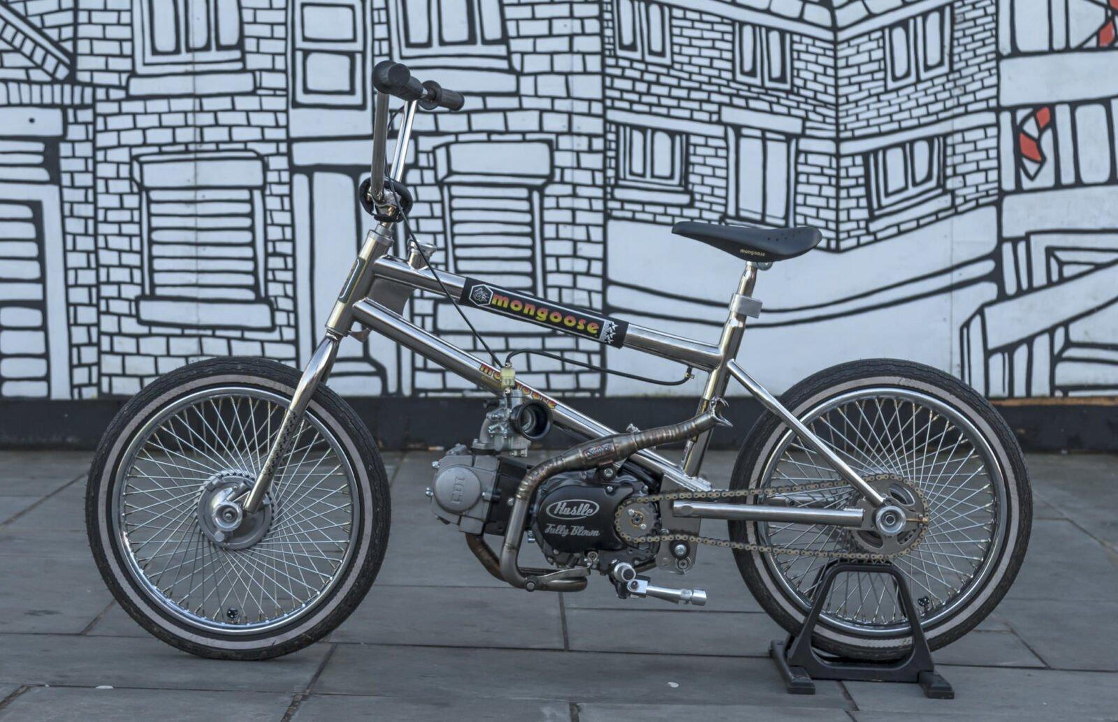 Motorized Mongoose BMX Bike 11