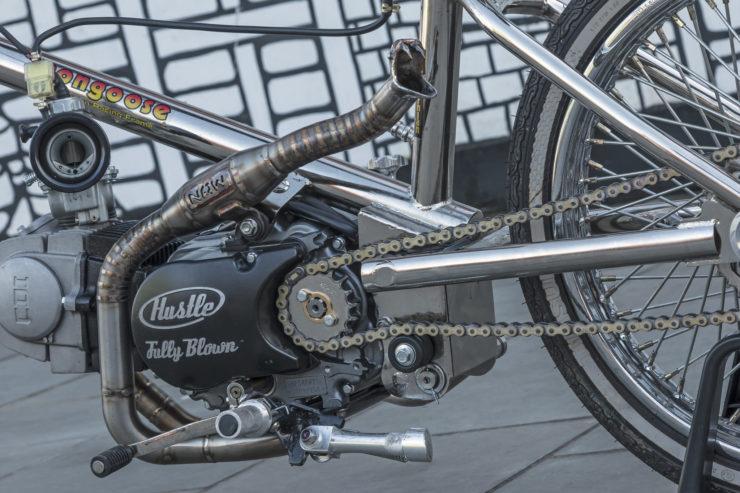 Motorized Mongoose BMX Bike 12