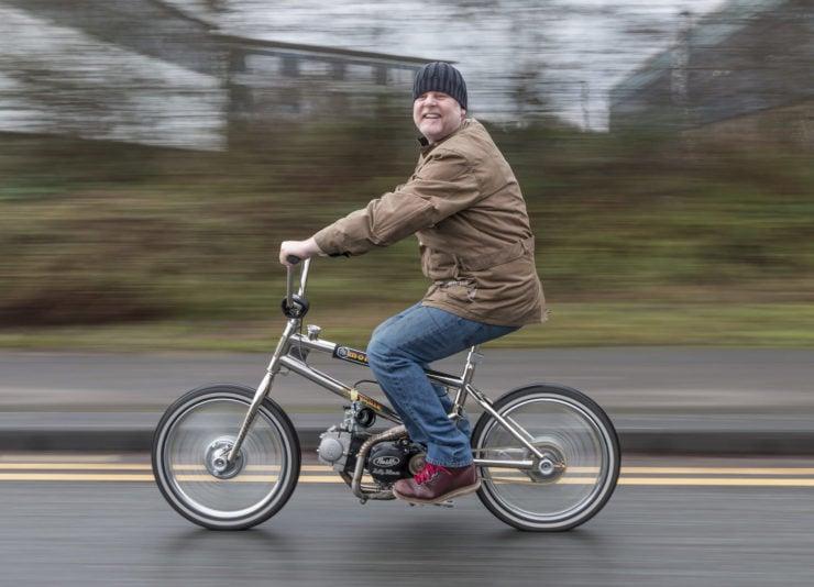 Motorized Mongoose BMX Bike 13