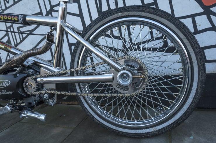 Motorized Mongoose BMX Bike 14