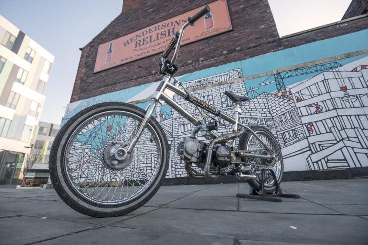 Motorized Mongoose BMX Bike 17