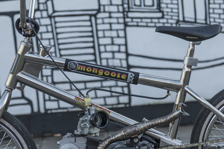 Motorized Mongoose BMX Bike 19