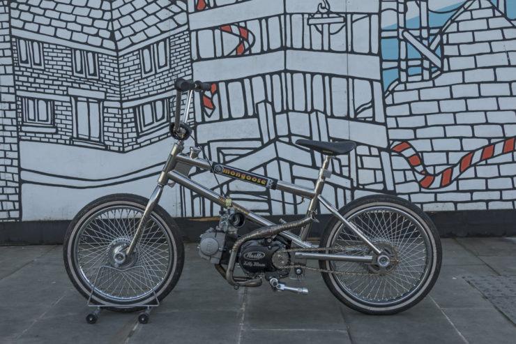 Motorized Mongoose BMX Bike 2