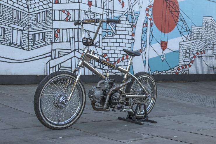Motorized Mongoose BMX Bike 20