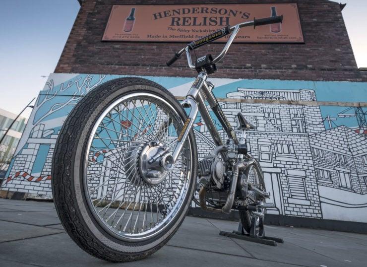 Motorized Mongoose BMX Bike 4