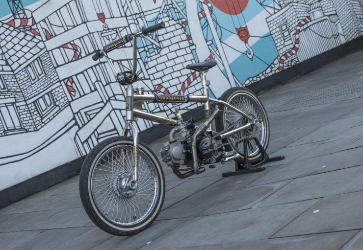 Motorized Mongoose BMX Bike 5