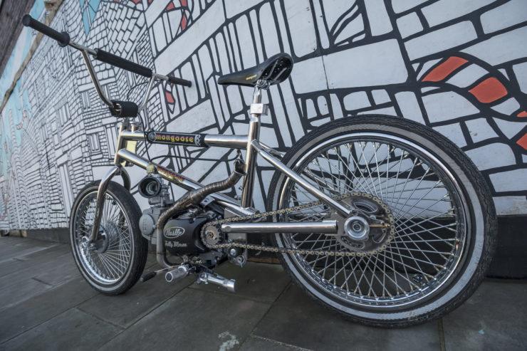 Motorized Mongoose BMX Bike 8