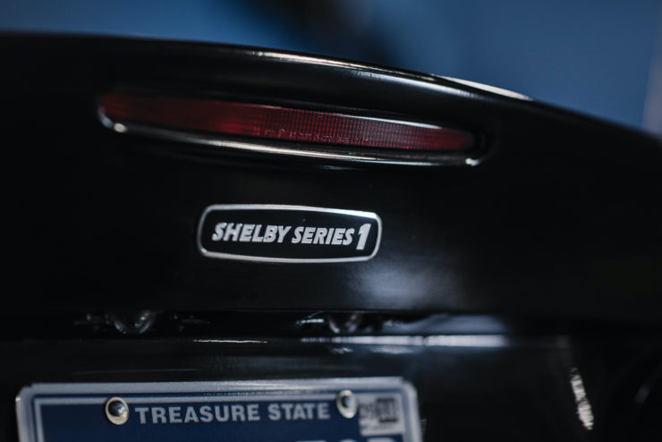 Shelby Series 1 Prototype Badge
