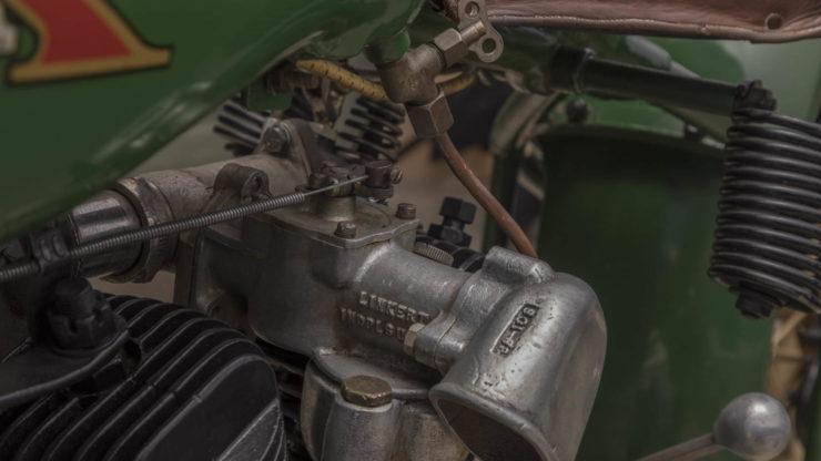 Steve McQueen Excelsior Super X Factory-Built Flat Tracker Engine 3