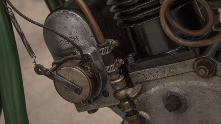 Steve McQueen Excelsior Super X Factory-Built Flat Tracker Engine
