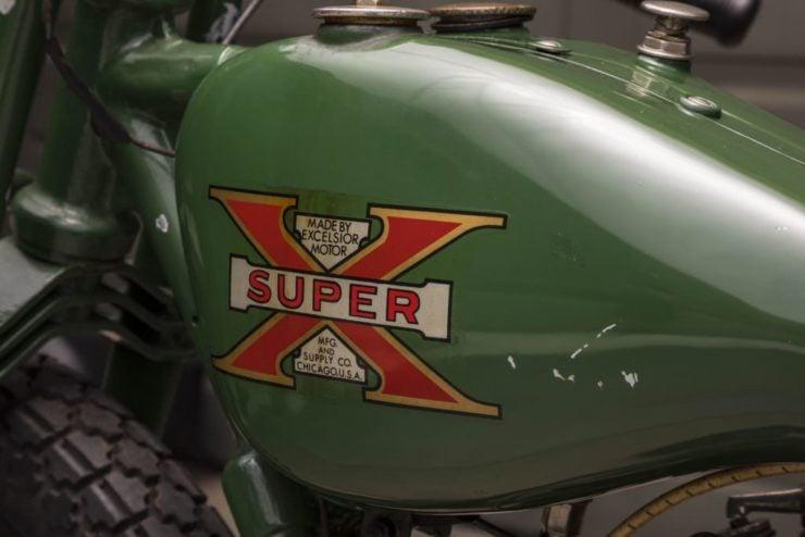 Steve McQueen Excelsior Super X Factory-Built Flat Tracker Tank