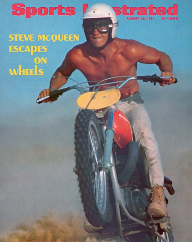 Steve McQueen Sports Illustrated