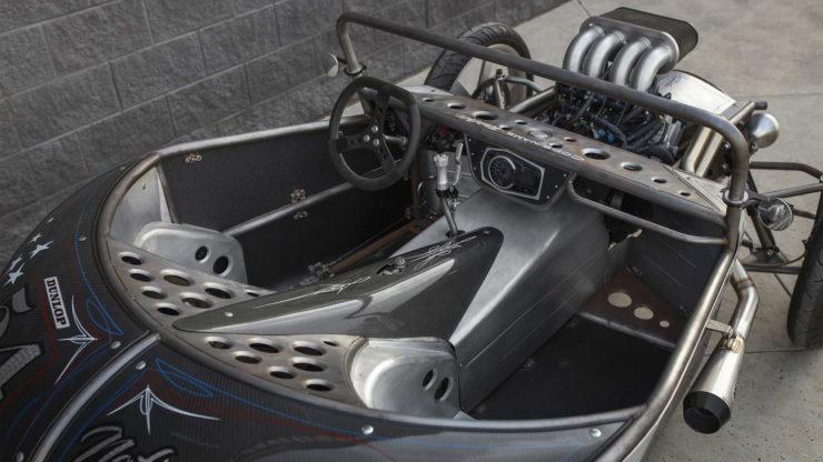 Suzuki GSX-R 1000R Powered 3-Wheeler Built By Jesse Rooke 12