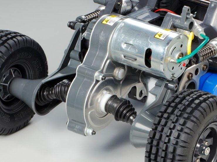Tamiya Subaru Brat Engine